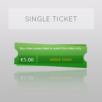 Single PPV Ticket