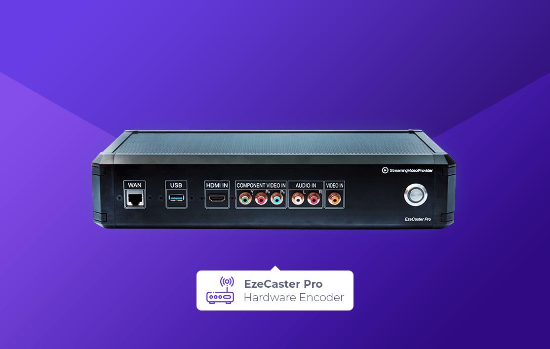 Live Streaming Encoder